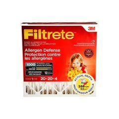 Filtrete Allergen Reduction Filter, 4 inch 20 x 20 x 4