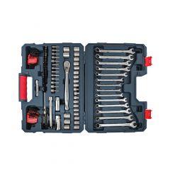 "3/8"" Drive Mechanics Tool Kit-128/Piece"
