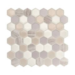 Hexagone Greige-6/Pack