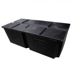 """Titan 600 lb 2 ' x 4' x 16"""" Foamed Dock Float"""