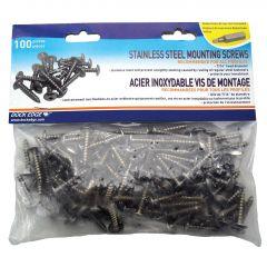Stainless Steel Screws-100/Pack