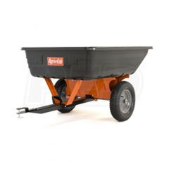 Poly Utility 10 Cu Ft Tow Behind Cart