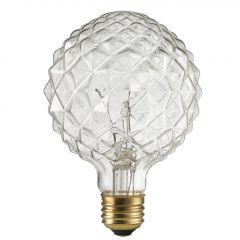 40 Watt Clear Crystalina Designer Light Bulb
