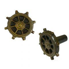 Antique Ship Wheel Knob