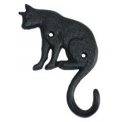 Cast Iron Cat Hook
