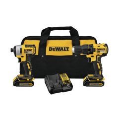 DeWaltT 20V Max Compact Brushless Drill Impact Kit
