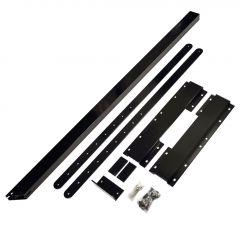 Aluminum Black Stair Riser Connector