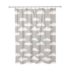 "72"" x 72"" Cloud Fabric Shower Curtain"