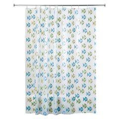 """72"""" x 72"""" Fishy PEVA Shower Curtain"""