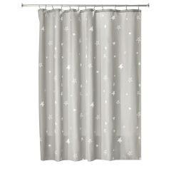 "72"" x 72"" Star Fabric Shower Curtain"