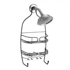 Neo Matte Black Shower Caddy