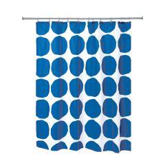 """72"""" x 72"""" Dot Fabric Shower Curtain"""
