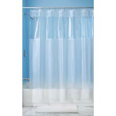 "54"" x 78"" Clear Hitchcock EVA Shower Stall Curtain"