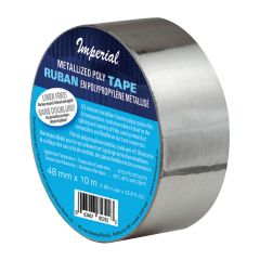 48mm x 25m Metalized Poly Tape