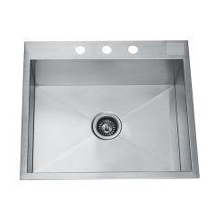 Stainless Steel Handmade Single Bowl Sink