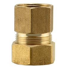 """5/8""""CP x 1/2""""FPT No Lead Brass Adapter"""