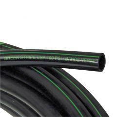 """Poly Pipe 1 1/4""""x1000' Green Stripe 100 PSI CSA"""