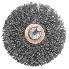 3 Inch Crimped Flat End Wire Brush