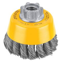 3 Inch x 5/8 Inch 11 Knotted Cup Brush