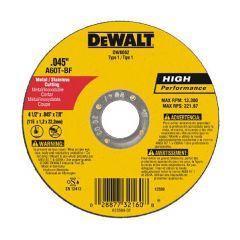 4-1/2 Inch x .045 Inch Thick Metal Cutting Wheel