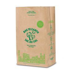 Large Paper Food Waste Bag