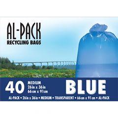 Medium Blue 26 x 36 40/Pack