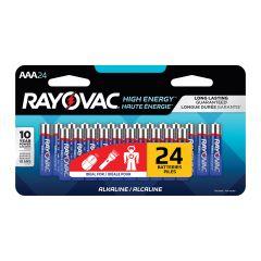 Rayovac Alkaline AAA Batteries-24/Pack