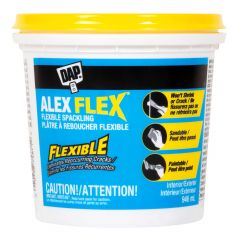 DAP ALEX FLEX Spackling 946 ml Container