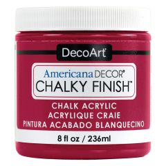 DecoArt 8oz Romance Americana Decor Chalky Finish Paint