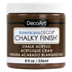DecoArt 8oz Rustic Americana Decor Chalky Finish Paint