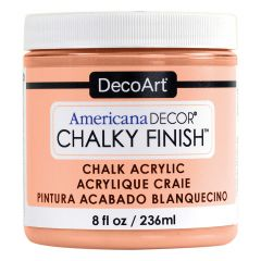 DecoArt 8oz Smitten Americana Decor Chalky Finish Paint