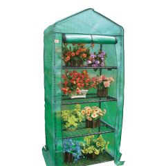 4 Tier Greenhouse With PE Cover And Fleece Cover