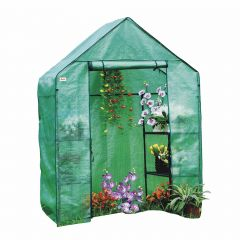 Walk In Greenhouse With PE Cover, Steel Tube Frame