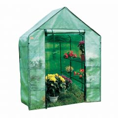 Large Walk In Greenhouse With PE Cover, Steel Tube Frame