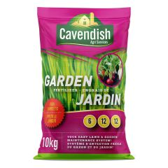 Cavendish 6-12-12 Garden Fertilizer 10Kg