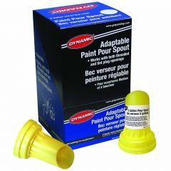 Dynamic Flexible Plastic Paint Spout