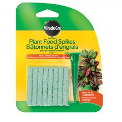 'Miracle-Gro Indoor Plant Food Spikes Tray 6-12-6