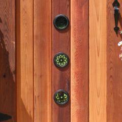 """4 1/2"""" Diameter Round Wooden Gate Insert"""