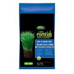Scotts Lawn Essentials Sun & Shade Grass Seed 5kg