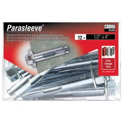ParaSleeve 1/2-in x 4-in - 12/Pack