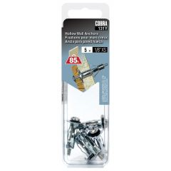 Hollow Wall Anchors 1/8-in XS - 5/Pack