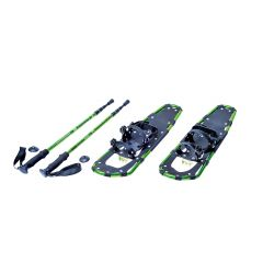 """22"""" Snow Shoe Set With Poles And Carry Case"""