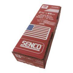 """Senco Angled 15 G DA 2-1/2"""" Brite Finish Nails"""