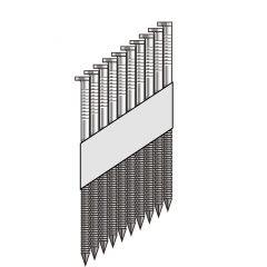 "34Deg Strip Paper Ring.Hot-Galv 3 1/4""X.120"" 2M"