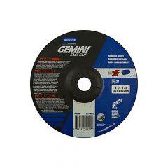 "7 x 1/4 x 7/8"" Gemini FC Grinding Wheel 24 Grit T27"