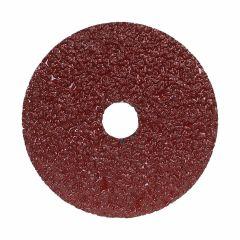 """5"""" x 7/8"""" 16 Grit Metal Aluminum Oxide Fiber Disc"""