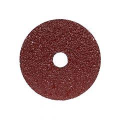 """7 x 7/8"""" Aluminum Oxide Metal Fiber Disc 24 Grit"""