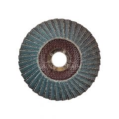 "5 x 7/8 "" Metal Fiberglass Conical Flap Disc T29 60 Grit"