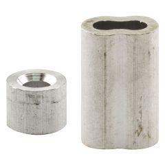 "Ferrules & Stops, 3/16"" Aluminum"