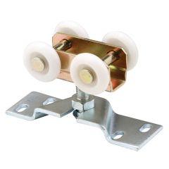 "Pocket Door Roller & Bracket, Four 1"" Nylon Wheels"